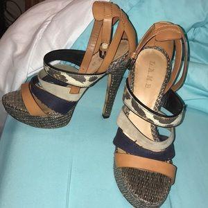 LAMB sandals like new